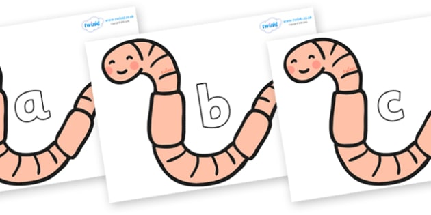 Phase 2 Phonemes on Earthworms - Phonemes, phoneme, Phase 2, Phase two, Foundation, Literacy, Letters and Sounds, DfES, display
