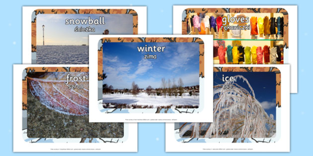 Winter Display Photos Polish Translation - polish, winter, display, photos, display photos