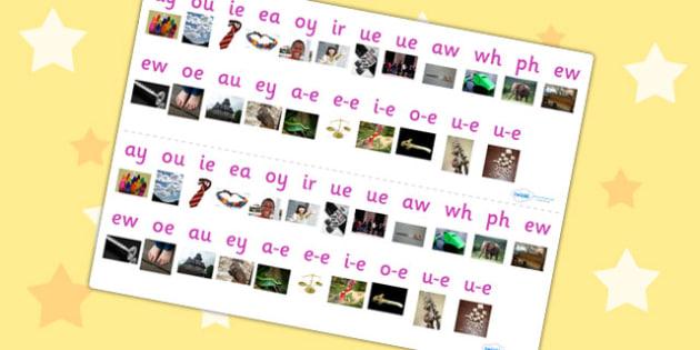 Phase 5 Photo Sound Strips - Phase 5, Sound Strips, Photo sound strips, phase 5 photo sound strips, sound strip, phase 5 sound strip