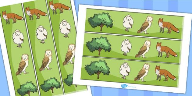 Owl Display Borders - owl, display, borders, display borders