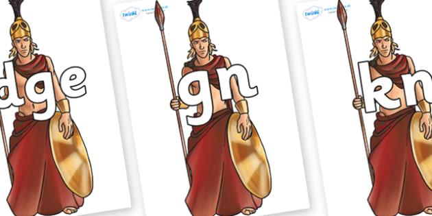 Silent Letters on Ares - Silent Letters, silent letter, letter blend, consonant, consonants, digraph, trigraph, A-Z letters, literacy, alphabet, letters, alternative sounds
