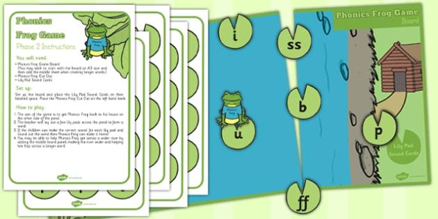 Phonics Frog Game - phonics, frog game, frog, game, sounds, sound