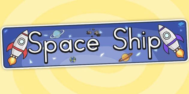 Spaceship Display Banner - australia, spaceship, display, banner