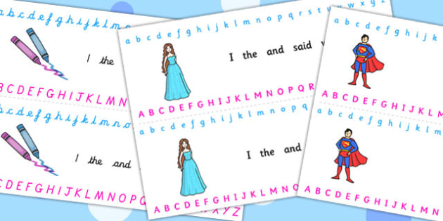 Alphabet Strips (Toys) - Alphabet, Toy, Learning letters, Writing aid, Writing Area, lambs, daffodils, new life, flowers, buds, plants, growth