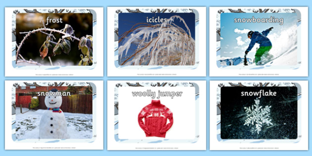 Winter Display Photo Cut Outs - winter, photo, cut outs, display