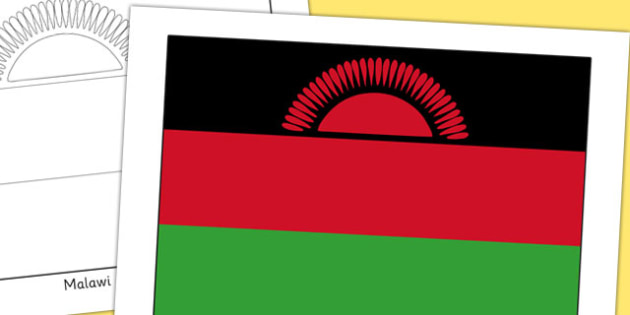 Malawi Flag Display Poster - countries, geography, display