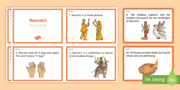 Navratri Fact Cards