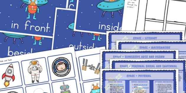 Space Lesson Plan Ideas Pack - australia, space, lesson plan