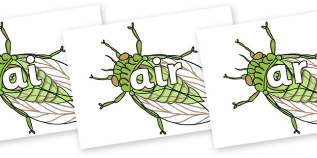 Phase 3 Phonemes on Cicada - Phonemes, phoneme, Phase 3, Phase three, Foundation, Literacy, Letters and Sounds, DfES, display