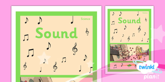 PlanIt - Science Year 4 - Sound Unit Book Cover - planit, science, year 4, sound, book cover