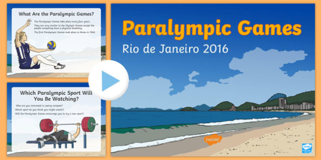 New Zealand Paralympic PowerPoint