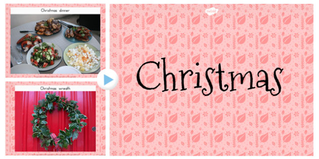 Christmas Photo PowerPoint - australia, christmas, powerpoint