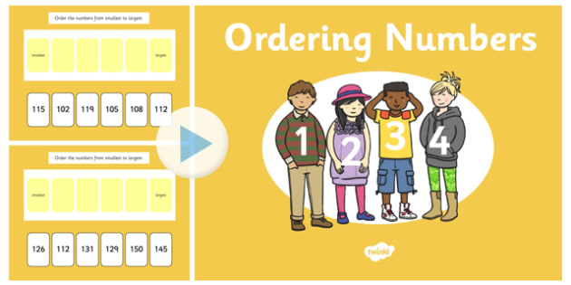 Ordering 3 Digit Numbers Notebook - ordering, digit, numbers