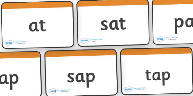 Words Using Set 1 GPC Word Cards - Phase 2, suggested words for practising reading and spelling, suggested words, GPC, GPCs, Phase two, Word cards, DfES Letters and Sounds, Letters and sounds, phase 3 activity
