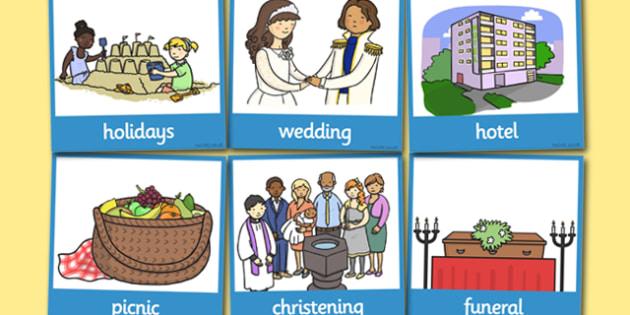SEN Communication Cards Places You Go (Boy) - communication cards, education, home school, child development, children activities, free, kids