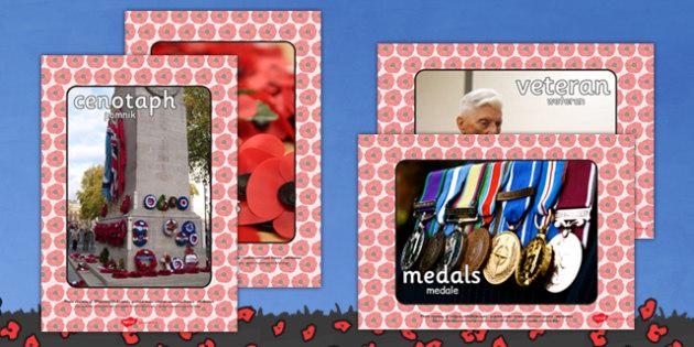 Remembrance Day Display Photos Polish Translation -  polish, world, war, one, first, remembrance day, poppies