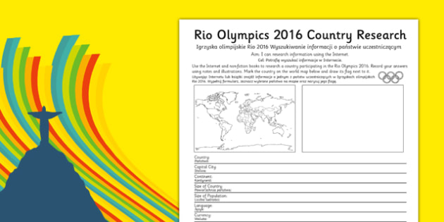 Rio 2016 Olympics Country Factfile Polish Translation - polish, rio olympics, 2016 olympics, country, factfile, fact file