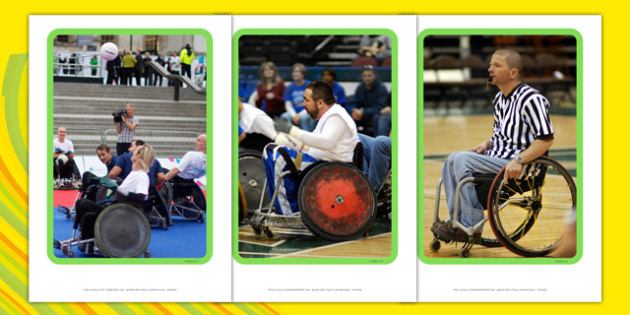 The Paralympics Rugby Display Photos - Rugby, Paralympics, sports, wheelchair, visually impaired, display, photo, photos, poster, 2012, London, Olympics, events, medal, compete, Olympic Games