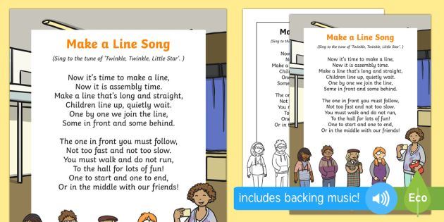 Make a Line Song