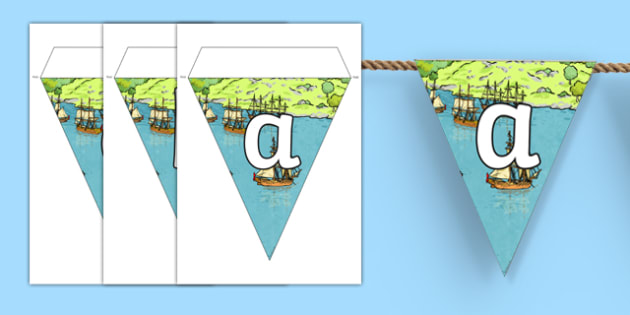 The First Fleet Bunting - australia, The First Fleet, First Fleet, convicts, voyage, england, australia, bunting