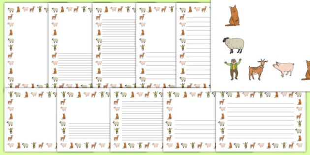 A Special Outing Page Borders Pack - a special outing, my gumpy's outing, page borders
