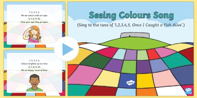 Seeing Colours Song PowerPoint