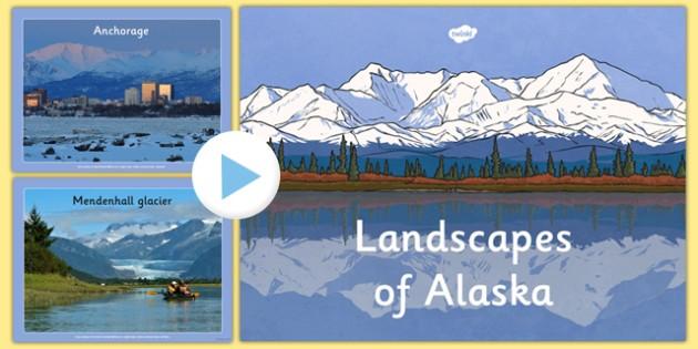 Alaska Photo PowerPoint - alaska, display photos, display, photos, canada, state, powerpoint