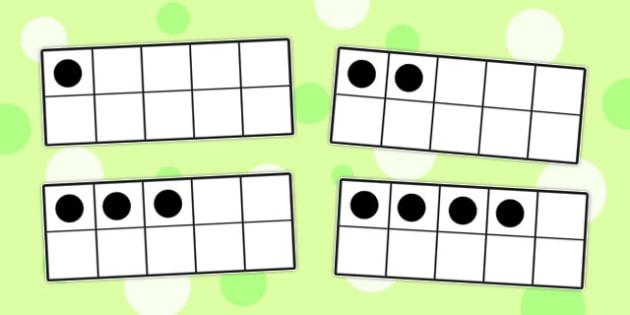 Number Frames - number, frames, number frames, counting, aid