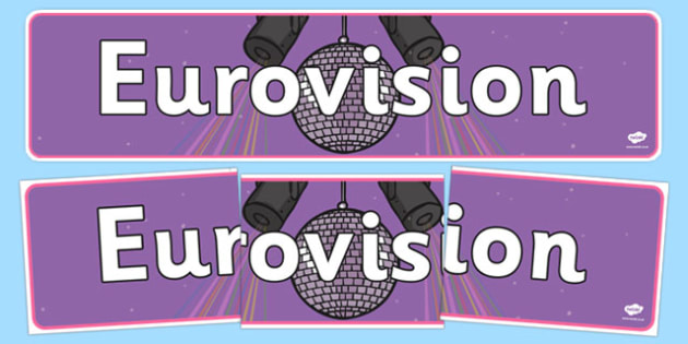 Eurovision Display Banner - eurovision, display banner, display, banner, song competition, europe, countries, singing, song, sing, participate, competition