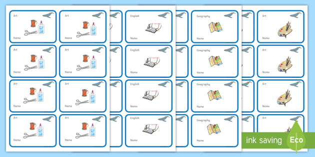 Blue Whale Themed Editable Book Labels - Themed Book label, label, subject labels, exercise book, workbook labels, textbook labels