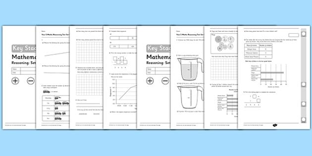 Year 5 Maths Reasoning Test  - Year 5, Reasoning, maths, test,