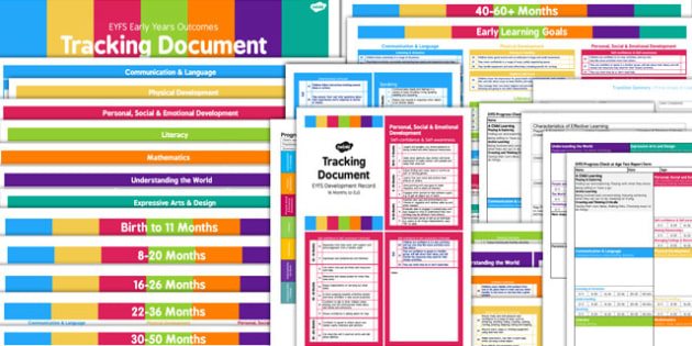 EYFS Tracking and Assessment Pack for Childminders - childminder