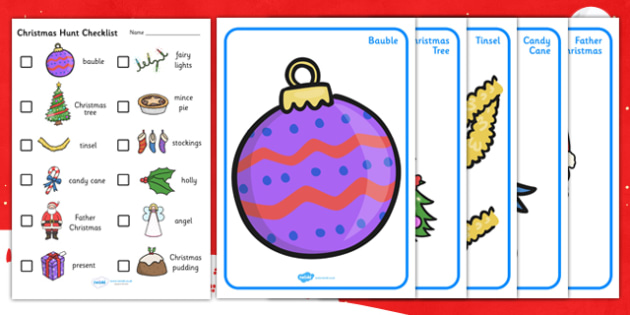 Christmas Hunt Activity Pack - christmas, hunt, activity, pack