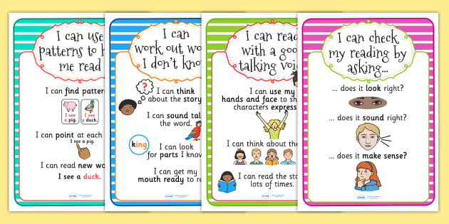 Guided Reading A4 Posters - guided reading, posters, display posters, themed posters, images, pictures, key words, posters for display, A4 posters, poster