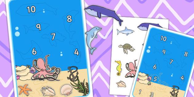 Under The Sea Reward Chart - charts, rewards, certificates, chart