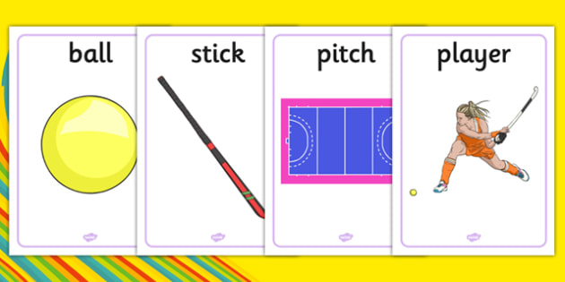 The Olympics Hockey Display Posters - Hockey, Olympics, Olympic Games, sports, Olympic, London, 2012, display, banner, poster, sign, activity, Olympic torch, events, flag, countries, medal, Olympic Rings, mascots, flame, compete