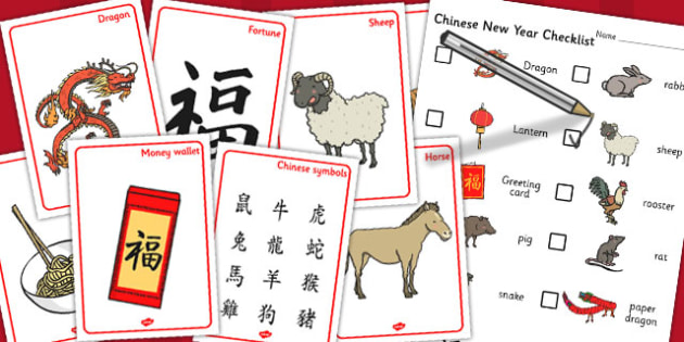 Chinese New Year Hunt Activity Pack - chinese, hunt, new year