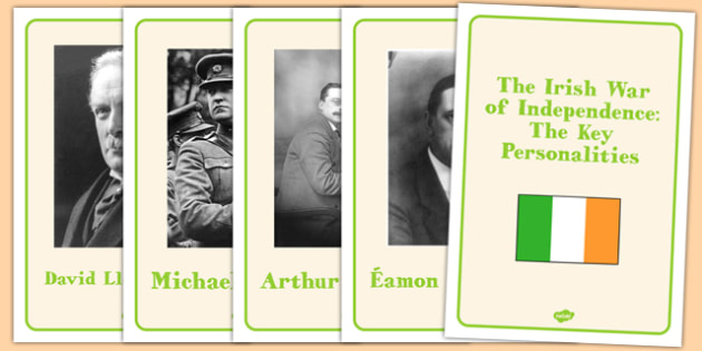 The Irish War of Independence Key Personality Posters - roi, irish, gaeilge, irish war of independence