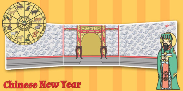 Chinese New Year Story Small World Background - chinese,  year