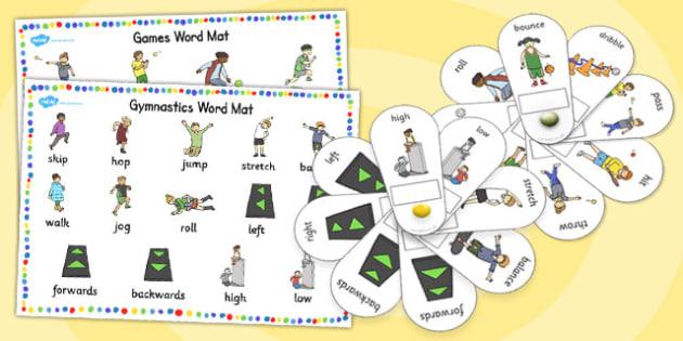 EAL PE Visual Clues Pack - eal, pe, visual clues, pack, resources