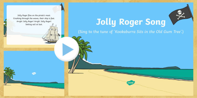 Jolly Roger Song PowerPoint