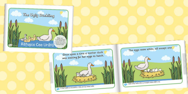 The Ugly Duckling eBook Romanian Translation - traditional, story