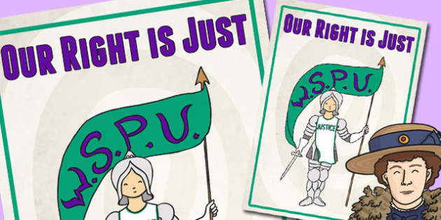 The Suffragettes Womens Rights Poster - rights for women, history