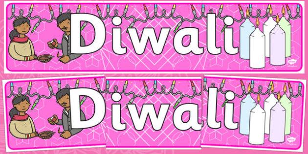 Diwali Display Banner - Banner, display, Diwali, religion, hindu, hanoman, rangoli, sita, ravana, pooja thali, rama, lakshmi, golden deer, diva lamp, sweets, new year, mendhi, fireworks, party, food, divali, divalli