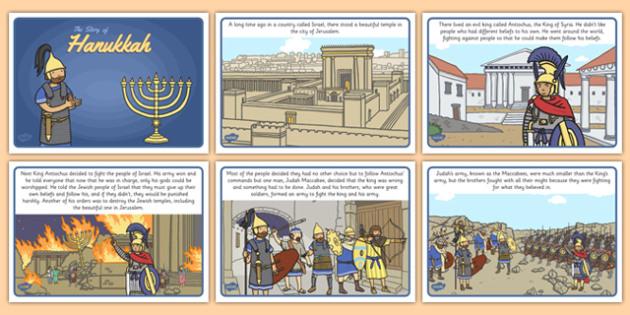 The Story of Hanukkah - story, hanukkah, judaism, menorah, oil