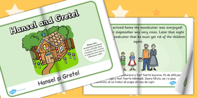 Hansel and Gretel eBook EAL Romanian Translation - Romanian