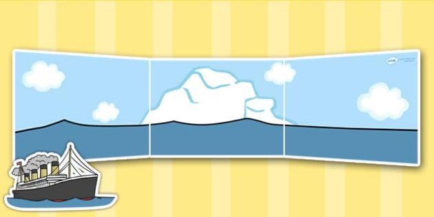 The Titanic Small World Background - titanic, small world, play
