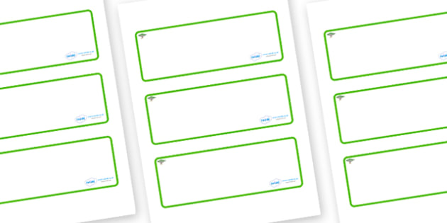 Acacia Themed Editable Drawer-Peg-Name Labels (Blank) - Themed Classroom Label Templates, Resource Labels, Name Labels, Editable Labels, Drawer Labels, Coat Peg Labels, Peg Label, KS1 Labels, Foundation Labels, Foundation Stage Labels, Teaching Label