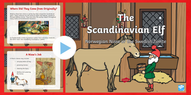 The Scandinavian Elf PowerPoint-Australia