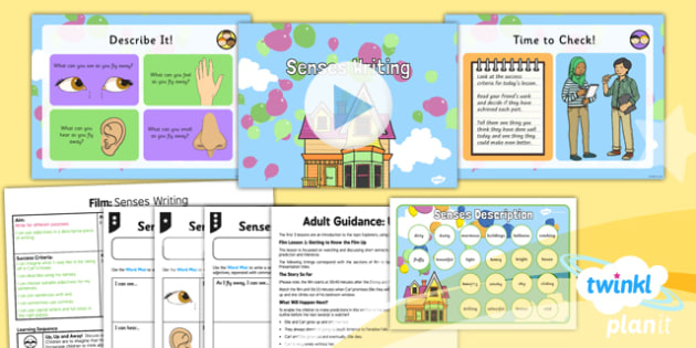 PlanIt Y2 Up Lesson Pack Film (2) - explorers, adventure, story, stories, film, Up